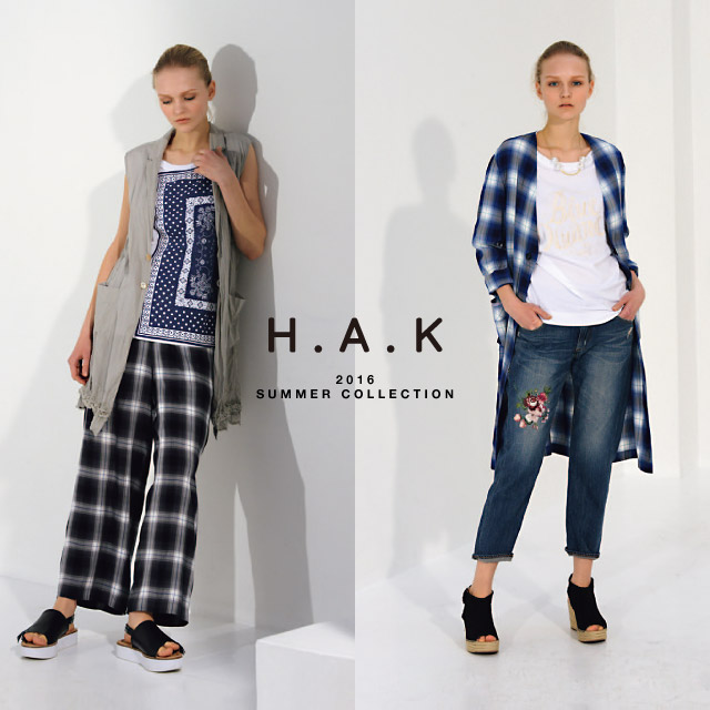 H.A.K 2016 SUMMER COLLECTION