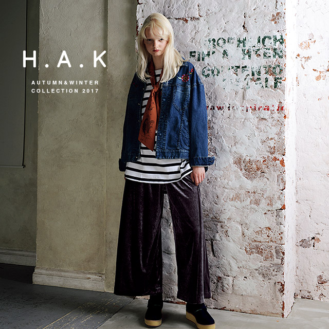 H.A.K AUTUMN&WINTER COLLECTION 2017