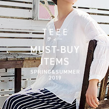 TEEE MUST-BUY-ITEMS SPRUNG&SUMMER 2019