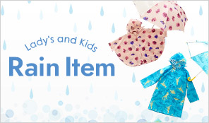 Lady's and Kids Rain Item